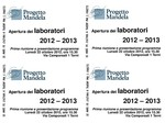Apertura Progetto Mandela 2012-2013