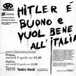 Hitler e' buono, e vuol bene allItalia